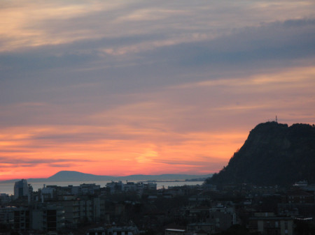 Alba sul Monte Conero - 10 gennaio 2014