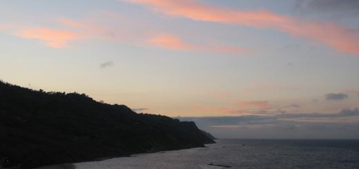 Colori del tramonto in Baia Flaminia
