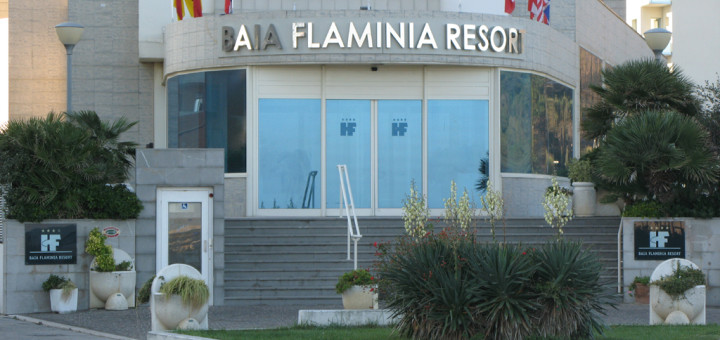 Ingresso del Baia Flaminia Resort
