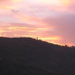 Faro al tramonto sul San Bartolo