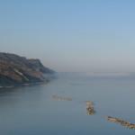 Nebbia svanita in Baia copre Rimini