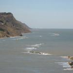 Vista nitida di Rimini da Baia Flaminia