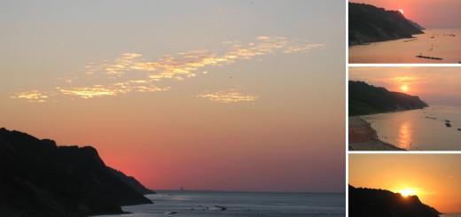 Carrellata di tramonti di fine Luglio 2015