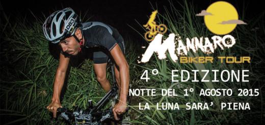 """Logo della quarta edizione del """"Mannaro Biker Tour"""""""