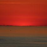 Ultimo raggio di sole al tramonto